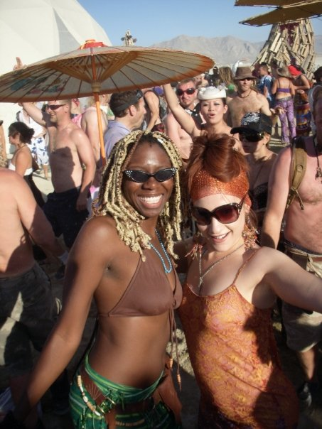 Black at Burning Man